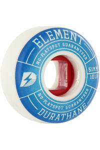 Element Impact 51mm Wheel 4er Pack  (blue)