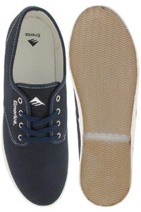 Emerica Wino Fusion Canvas Shoe (navy tan white)