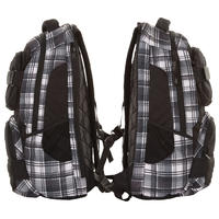 Vans Shroud Rucksack (black white grey plaid)
