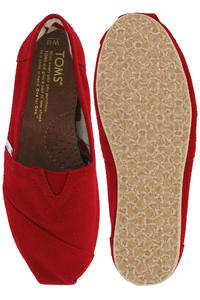 Toms Classics Canvas Schuh girls (red)