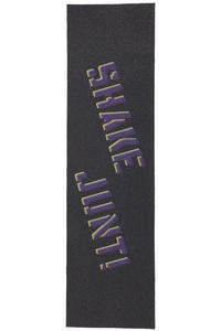 Shake Junt Stencil Logo Griptape (black purple yellow)