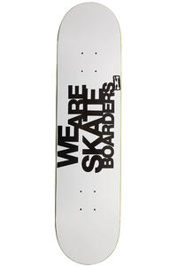 Trap Skateboards We Are Skateboarders 7.75&quot; Deck inkl. DVD  (white)