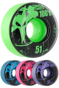 Bones 100's-OG #11-Party-Pack 51mm Rollen 4er Pack