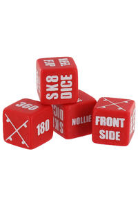Sk8Dice Skate-Dice Spielzeug (red)