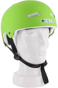 TSG Evolution-Solid-Colors Helmet (flat green)