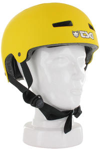 TSG Evolution-Solid-Colors Helm (flat yellow)