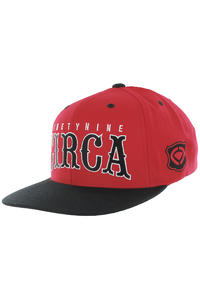 C1RCA Roadtrip Snapback Cap (red)