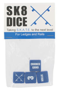 Sk8Dice Ledge-Rail-Skate-Dice Toy (blue)