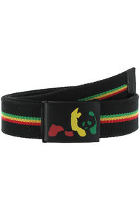 Enjoi Rasta Panda Belt (black)