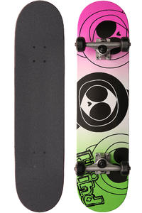 "Blind Three Kennys 7.625"" Complete-Board (green pink)"