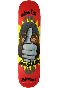 Almost Haslam Thumbs Up Impact 8.125&quot; Deck (red)