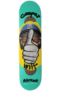 "Almost Wilt Thumbs Up Impact 7.75"" Deck (turquoise)"