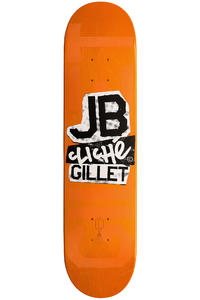 "Cliché Gillet Paper Lux 7.625"" Deck (orange)"