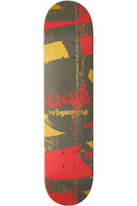 "Cliché Press Pre-Gripped 7.5"" Deck (red)"