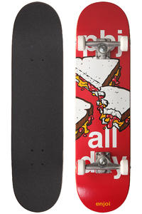 "Enjoi PBJ All Day 8"" Complete-Board (red)"