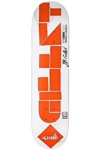 Clich Gillet Laser Cut Carbonlight 7.75&quot; Deck (white orange)