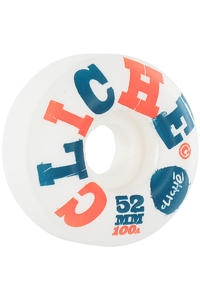Cliché Woodcut 52mm Wheel 4er Pack  (white)