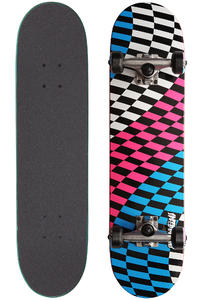 "Speed Demons Twist Checks 7.375"" Komplettboard (white pink blue)"