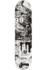 "Alien Workshop Logo Andy Warhol B&W Series 7.75"" Deck (black white)"