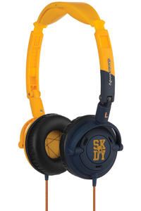 Skullcandy Lowrider Headphones (yellow navy)