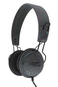 WeSC Tambourine Telewescion Headphones (dark shadow)