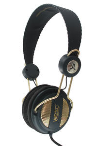 WeSC Oboe Golden Seasonal Headphones (beluga)