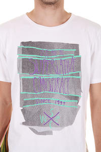 WeSC Nervous Breakdown T-Shirt (white)