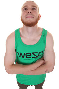 WeSC Singlet Tank-Top (deep mint)