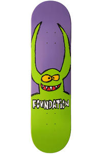"Foundation Yuck Monster 8.125"" Deck (purple green)"