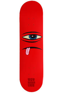 Toy Machine Sect Face 7.875&quot; Deck (red)