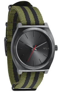 Nixon The Time Teller Uhr (surplus black nylon)