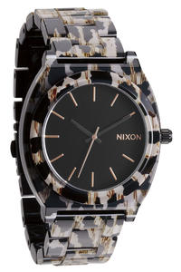 Nixon The Time Teller Acetate Uhr (leopard)