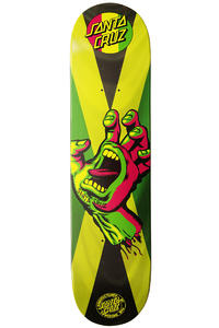 Santa Cruz Rasta Hand Jammin 7.875&quot; Deck (multi)