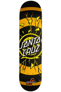 "Santa Cruz Rob Dot Fade 7.75"" Deck (black orange)"