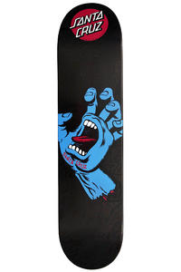 "Santa Cruz Sreaming Hand Black N Blue 7.625"" Deck"