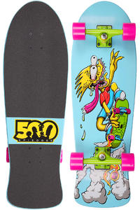 "Santa Cruz x The Simpsons Bart Slasher 9.8"" x 30.2"" Cruiser (blue)"