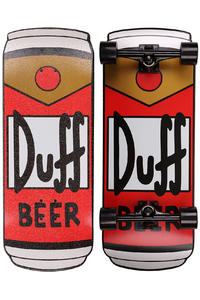Santa Cruz x The Simpsons Duff Can 10.5&quot; x 27.5&quot; Cruiser (red)
