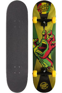 Santa Cruz Rasta Hand Jammin 7.875&quot; Complete-Board (multi)
