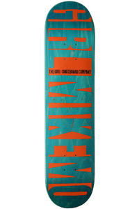 "Girl Capaldi Big Girl Invert 7.5"" Deck (green)"