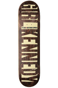 Girl Kennedy Big Girl Invert 8&quot; Deck (brown)