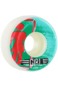 Girl BA OG Stencil 52mm Wheel 4er Pack  (green)