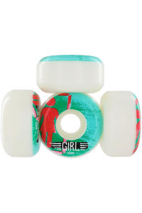 Girl BA OG Stencil 52mm Rollen 4er Pack  (green)