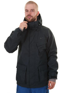 Nike Leavitt 3 in 1 Snowboard Jacke (black light charcoal)