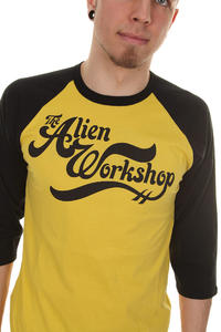 Alien Workshop Speedball Longsleeve (mustard black)