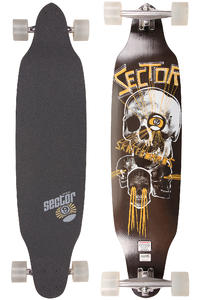 "Sector 9 Carbon Decline - Platinum Series 40.5"" (103cm) Komplett-Longboard (yellow)"