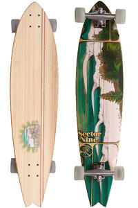 Sector 9 Lennox Head - Bamboo Series 38&quot; (96,5cm) Komplett-Longboard