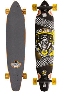 Sector 9 Co-Pilot - OG Series 42&quot; (107cm) Complete-Longboard (yellow)