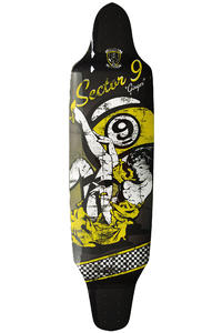Sector 9 Ginger - Downhill Division 10.2&quot; x 39.5&quot; (100cm) Longboard Deck
