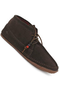 Emerica Hopi Mid Suede Shoe (dark brown)