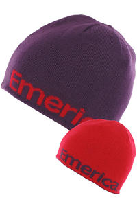 Emerica Pure Beanie reversible  (purple)